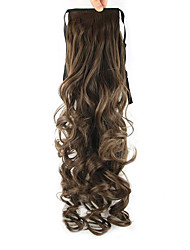 cheap -length-dark-brown-wig-ponytail-55cm-high-synthetic-pearvolume-temperature-wire-color-8