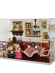 cheap -Diy Hut Chi Fun House Glass House T-009 Series Of Indelible Moment Handmade Gift Ideas