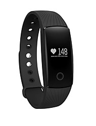 cheap -ZS107 Activity Tracker / Smart Bracelet Smartwatch iOS / Android Heart Rate Monitor / Long Standby / Timer Heart Rate Sensor / Finger sensor TPE Black / Purple / Orange / Bluetooth4.0 / Alarm Clock