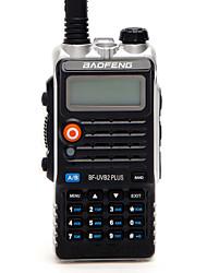 Недорогие -BAOFENG BF-UVB2 PLUS Для ношения в руке / Цифровой Голосовые подсказки / Двойной диапазон / Двойной дисплей 1,5 - 3 км 1,5 - 3 км 128 1800mAh 7 W Walkie Talkie Двухстороннее радио