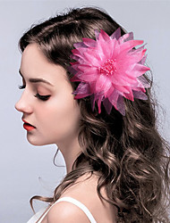 cheap -Fabric Flowers / Headwear / Hair Clip with Floral 1pc Wedding / Special Occasion Headpiece