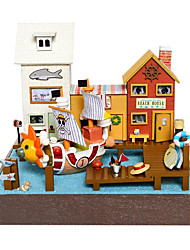 cheap -Chi Fun House Diy Hut Piece Adventure Wanli No. Valentines Day Gift Hand-Assembled Model House