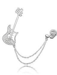 Недорогие -высокое качество кристалла музыка броши для свадьбы партии леди