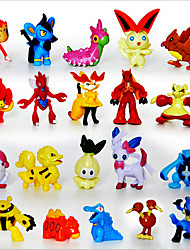 cheap -Pocket Little Monster 24pcs Action Figures Cute Monster Mini Figures Toys Best Christmas&Birthday Gifts Brinquedos 3cm