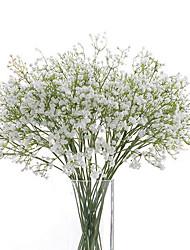 Недорогие -Гипсофила искусственные цветы 6 ветка свадебные цветы детское дыхание настольный цветок