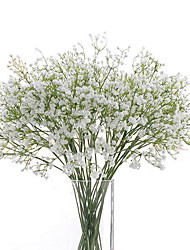 cheap -Gypsophila Artificial Flowers 6 Branch Wedding Flowers Baby Breath Tabletop Flower 62cm