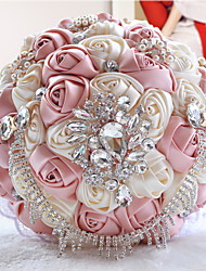 "cheap -Wedding Flowers Bouquets Wedding / Party / Evening Bead / Crystal / Rhinestone 11.02""(Approx.28cm)"