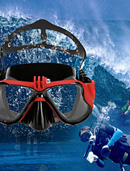 cheap -Goggles Diving Masks Mount / Holder Waterproof Adjustable 1 pcs For Action Camera Gopro 6 Sports DV Gopro 5/4/3/3+/2/1 Diving PU Leather Plastic