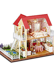 cheap -Chi Fun House Diy Hut Hut Princess Hand Assembled Model House Creative Gifts To Send Girls Day Gift