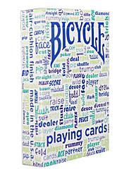 abordables -maison mobilier de table talk bicyclette carte de poker magie carte accessoires costume table de natation