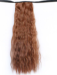 cheap -wig brown 50cm water synthetic high temperature wire hot corn horsetail color 30b
