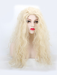 cheap -Synthetic Wig Natural Wave Natural Wave Wig Blonde Long Blonde Synthetic Hair Women's Blonde