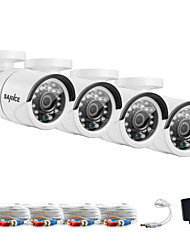 Недорогие -sannce® 1080 * 720 ah крытый наружный фотокамера cctv ir cut наборы для защиты от атмосферных воздействий