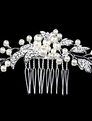 cheap -Pearl / Crystal / Rhinestone Hair Combs with 1 Wedding / Special Occasion / Casual Headpiece