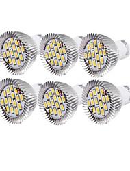 cheap -YouOKLight 6pcs 6 W LED Spotlight 450-500 lm GU10 R63 15 LED Beads SMD 5630 Decorative Warm White Cold White 220-240 V 110-130 V / 6 pcs / RoHS