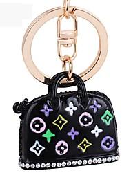 Недорогие -моды эмали сумки металла брелок кулон украшения брелок брелок для ключа