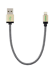 cheap -Lightning Cables / Cable <1m / 3ft Braided Nylon USB Cable Adapter For iPad / Apple / iPhone