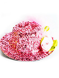 cheap -With A New Hat Jewelry Accessories Clip Confused Baby Girl Toy Play House Toys Color