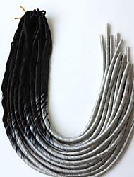 cheap -Braiding Hair Havana Dreadlocks / Faux Locs 100% kanekalon hair / Kanekalon 20 roots / pack Hair Braids Ombre Dreadlock Extensions / Dreads Locs / Crochet Faux Dreads