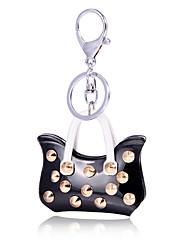 cheap -Fashion Acrylic Rivet Car Key Holder Keychain Charm Clothing Accessories Gifts