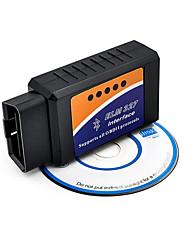 Недорогие -bluetooth bluetooth obd2 v2.1 elm327 детектор транспортных средств расходомер топлива транспортного средства