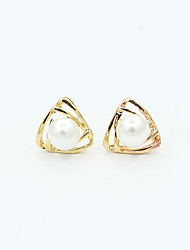 cheap -Women's Stud Earrings European Fashion Imitation Pearl Earrings Jewelry Gold / Silver For Wedding Party Daily Casual Sports Work