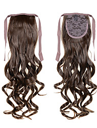 cheap -Ponytails Hair Piece Curly Wavy Classic Synthetic Hair 22 inch Hair Extension Cross Type Women's Daily