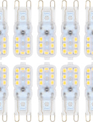 cheap -YWXLight® 10PCS G9 2835SMD 14LED 150-200LM LED Bi-pin Lights Warm White Cool White LED Corn Bulb Chandelier Lamp AC 220-240 AC 110-130V
