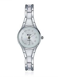 cheap -2016 Jewelora Luxury Noble Personality Quartz Diamond 18k Silver Women Watches