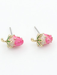 cheap -Women's Stud Earrings Vintage Fashion Resin Earrings Jewelry Pink For Wedding Party Daily Casual Work