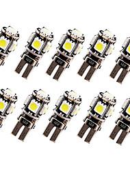 cheap -10pcs T10 Car Light Bulbs 2.5 W 120 lm LED Turn Signal Light For universal