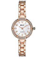 cheap -jewelora Women's Fashion Watch Dress Watch Quartz Gold Shock Resistant Analog Charm Vintage Casual - Gold