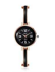 cheap -jewelora Women's Dress Watch Fashion Watch Quartz Casual Watch Shock Resistant Alloy Band Vintage Black