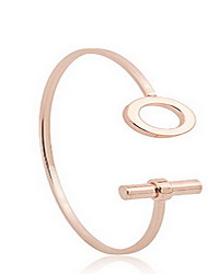 cheap -Women's Cuff Bracelet Bohemian Fashion Acrylic Bracelet Jewelry Rose Gold For Daily Casual