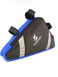 Недорогие -B-SOUL 4L Бардачок на раму Бардачок на руль Сумка с треугольной рамкой Многофункциональный Влагонепроницаемый Пригодно для носки Велосумка/бардачок Оксфорд Велосумка/бардачок Велосумка