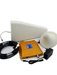 Недорогие -ЖК-дисплей GSM 900 МГц DC 1800 МГц мобильный телефон усилитель сигнала усилитель журнала периодическая антенна / потолочная антенна с кабелем наружная внутренняя антенна GSM 900 МГц DC 1800