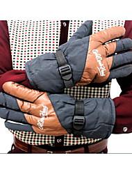 Недорогие -новая зимняя езда электрический автомобиль теплые перчатки зимой расширение лыжных мужские перчатки мотоцикла