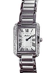 cheap -Women's Fashion Watch Quartz Japanese Quartz Stainless Steel Silver / Gold / Rose Gold Casual Watch Analog Sparkle - Gold Silver Rose Gold