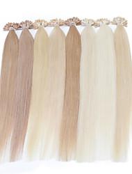 cheap -neitsi 16inch highlight straight u nail tip prebonbded hair extension 25g human hair