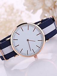 cheap -Men's Wrist Watch Quartz Black / White / Blue Casual Watch Analog Classic Minimalist Dress Watch Simple watch - White Red One Year Battery Life / Tianqiu 377