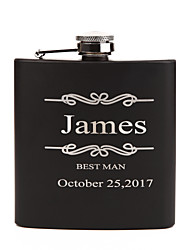cheap -Personalized Stainless Steel Barware & Flasks / Hip Flasks Bride / Groom / Bridesmaid Wedding / Birthday / Valentine