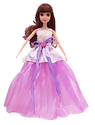 cheap -Doll Clothes Skirt Wedding Dress Evening Dress Plastic Fashion Girls' Toy Gift