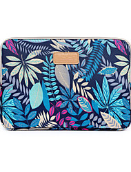 "cheap -14.3"" 15.6"" Canvas Laptop Sleeves Fabrics Flower for Macbook/Surface/HP/Dell/Samsung/Sony Etc"