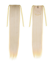 cheap -Synthetic Hair Hair Extension Straight Classic Daily High Quality Ponytails