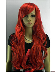 cheap -Synthetic Wig Wavy Wig Red Women's Red