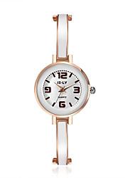 cheap -jewelora Women's Fashion Watch Dress Watch Quartz Rose Gold Shock Resistant Casual Watch Analog Vintage - Rose Gold