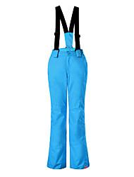 Недорогие -GSOU SNOW Лыжные брюки Катание на лыжах Зимние виды спорта Сохраняет тепло Водонепроницаемость С защитой от ветра Полиэстер Брюки Нижняя часть Одежда для катания на лыжах / Дышащий / Быстровысыхающий