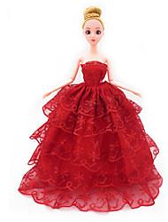 abordables -universel (hors bébé) 7 vêtements robe de mariée sac plein grande jupe arrière design robe de mariée 30 cm jupe de poupée