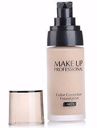 cheap -3 Colors Concealer Foundation 1 pcs Waterproof / Whitening / Oil-control Body / Face Waterproof Makeup Cosmetic