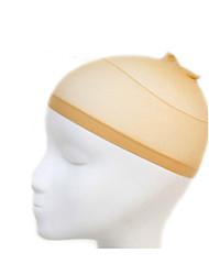 cheap -1pcs unisex elastic wig caps for making wigs glueless hair net wig liner cap snood nylon stretch mesh